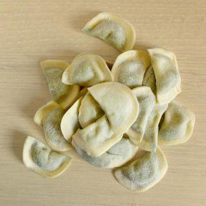Pansoti a Mezzaluna ripieni di verdure